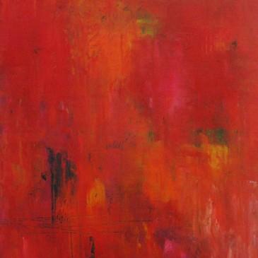 Abrazame Fuerte.OIl on Panel.20x16