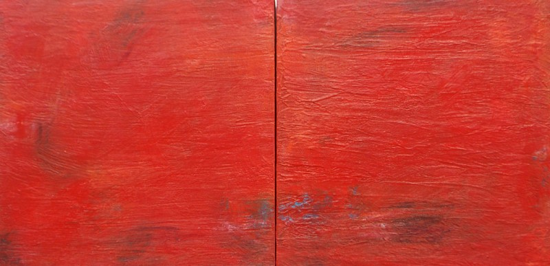 Alma Gitana (Gypsy Soul). Acrylic on Panel. 12×24 Diptych