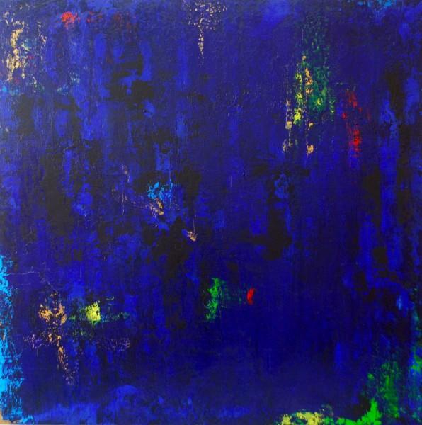 Besame Despacio…(Kiss me Slowly).Acrylic on Panel.36×36