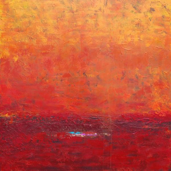 Bliss. Acrylic on Canvas 36×36