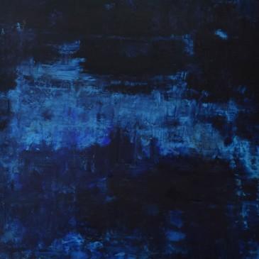 Blue Velvet.Oil on Panel.36x36
