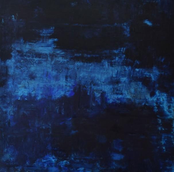 Blue Velvet.Oil on Panel.36×36