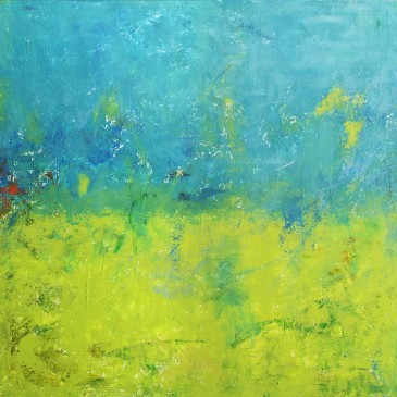 Copy of Navegando en tus profundidades (Navigating in your depths) Acrylic on Canvas 36x36