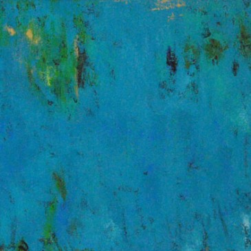 En tus profundidades (Feeling You Deeply). Acrylic on Canvas. 24x60.