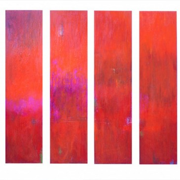 Euphoria Acrylic on Canvas 48x12 each. Jpg