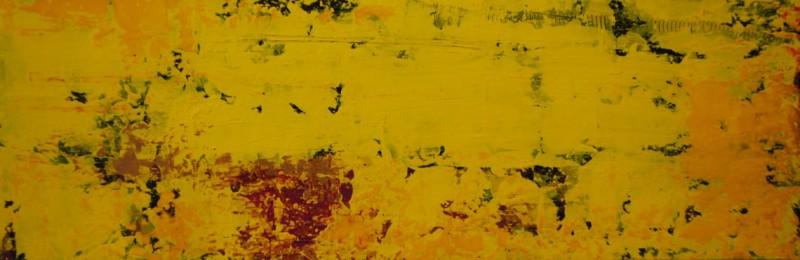 Gentle Seduction.Acrylic on Panel.8×24