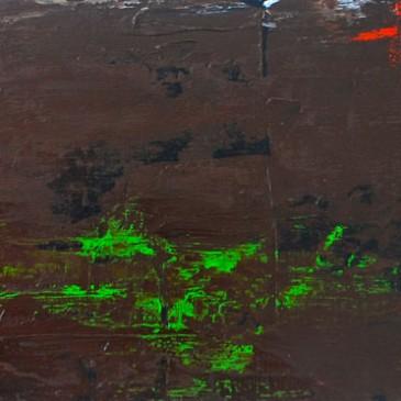 Grand.Acrylic on Panel.8x24