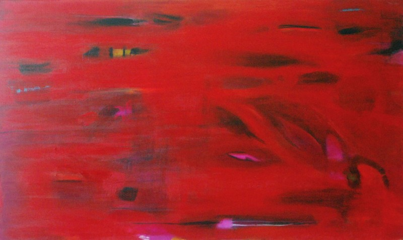 Historia de amor II (Love story II) Acrylic on canvas 36×60