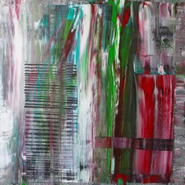 Incierta Procedencia (Uncertin origin) Acrylic on canvas 36x36