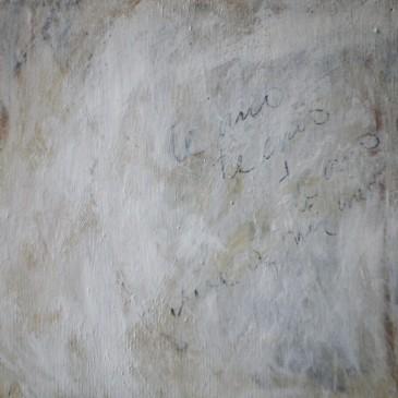 Just Flowing II Acrylic on wood panel 12x12
