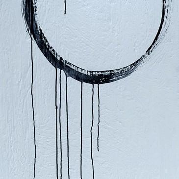 Life Cycle Acrylic on Canvas 48x24