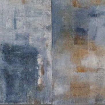 Life Journey.Oil on Panel.16x40
