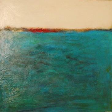 Mar apasionado ( Passionate Sea) Acrylic on Canvas 48x48
