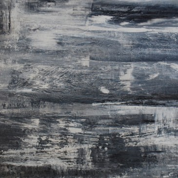 Meditative Acrylic on canvas 24x48