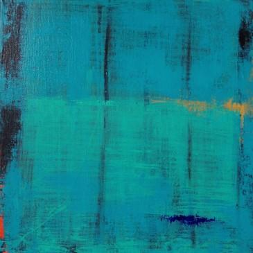 Opulen Reflection Acrylic on canvas 12x12