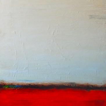 Orange Prelude. Acrylic on Canvas 48x36