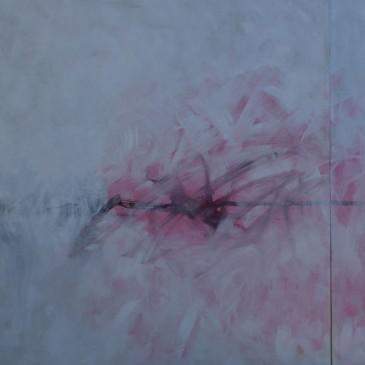Pasion Desbordada (Incredible Passion Acrylic on canvas 36x72