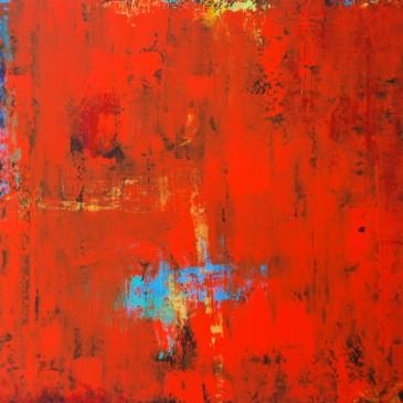 Presence.Acrylic on Panel.36x36