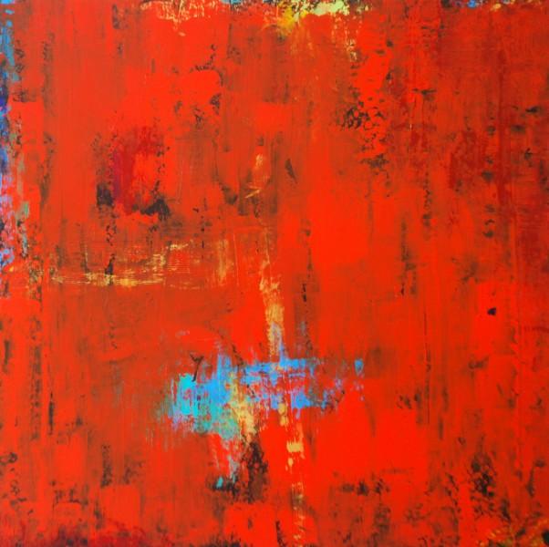 Presence.Acrylic on Panel.36×36