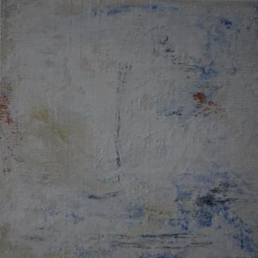 Simply Blue II Acrylic on wood panel 12x12