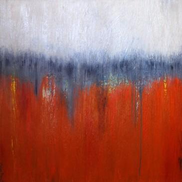 Vibrating Emotion. Acrylic on canvas 36x36