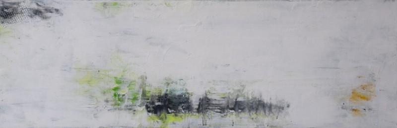 Vivacious.Oil on Canvas.8×24